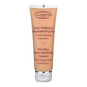 Clarins One-step Gentle Exfoliating Cleanser (All Skin Types) 4.32oz 125ml