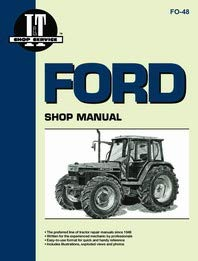 Ford 7740 Tractor Service Manual (IT Shop)