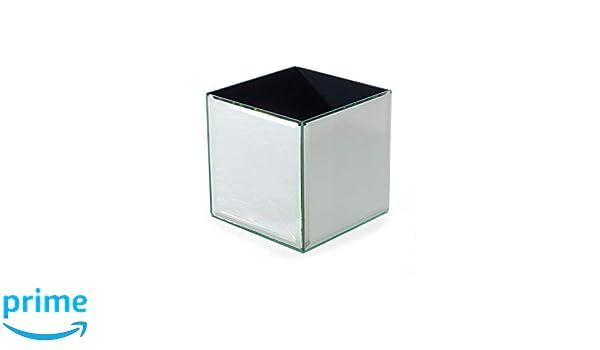 INERRA Vidrio Espejo Cube-Florero para Boda Mesa Centros de Mesa, Velas y de Mesa Arreglos - 10cm x 10cm x 20cm: Amazon.es: Hogar