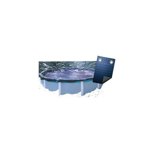 Garden Leisure - Bâche Couverture Hivernage Super Guard 80 G/m2 Diam. 6, 40 M Avec Coversaver
