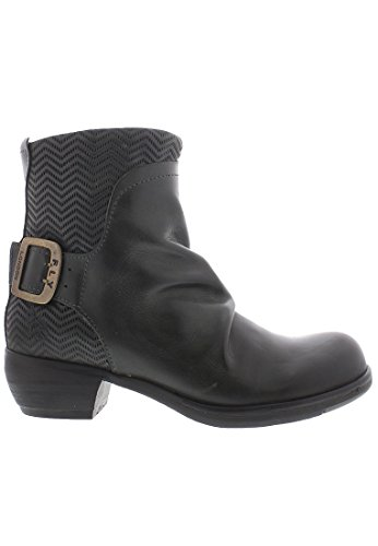 FLY London Melb687fly - Botas cortas Mujer Gris