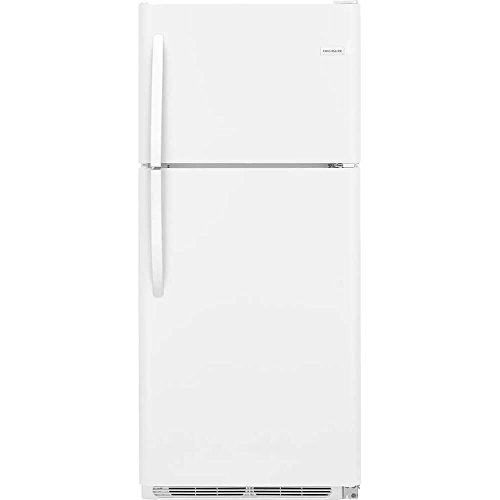 W 30 Inch Freestanding Top Freezer Refrigerator with 20 cu. ft. Total Capacity, 2 Glass Shelves, 5.1 cu. ft. Freezer Capacity, in White (30 Inch Refrigerator Drawers)