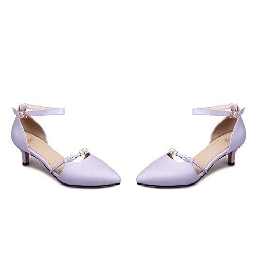 36 Femme 5 SLC04354 Sandales Violet Compensées AdeeSu Violet ZwnYvqUZt