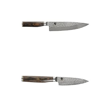 Amazon.com: Shun Premier cuchillo, 20,3 cm) y 4-inch Bundle ...