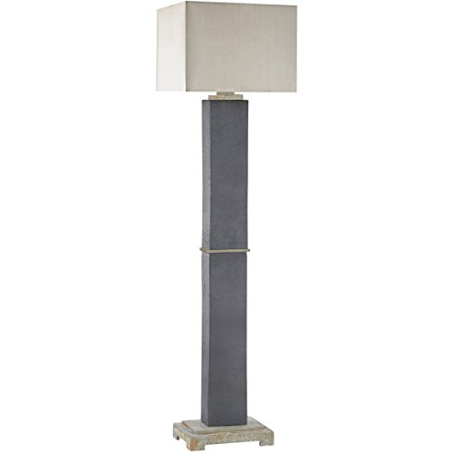 - Dimond D3093 Elliot Bay Outdoor Floor Lamp, 1-Light 100 Watts, Grey Slate