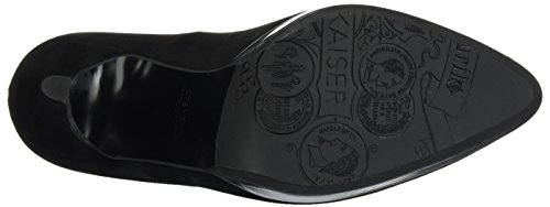 Donna Peter Col Kaiser Fumo Suede Tacco Hetlin 809 Iron Scarpe schwarz Chiusa Punta Nero TT0qZFSw