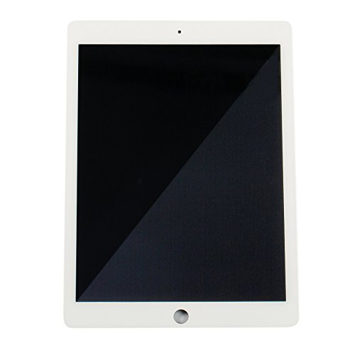 LCD Digitizer Touch Screen Display for iPad Pro (9.7'') (Grade A) - White A1673 / A1674 / A1675 Replacement Repair Part by Mobile Defenders
