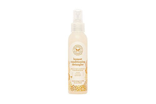 The Honest Company Conditioning Detangler Leave In Conditioner And Fortifying Spray Sweet Orange Vanilla