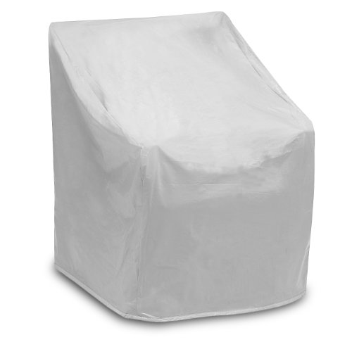 Protective Covers Weatherproof Wicker Chair Cover, Regular, Gray, 35