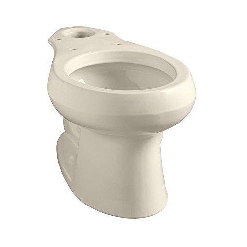 Bowl Kohler (KOHLER K-4197-96 Wellworth Round-Front Bowl, Biscuit)