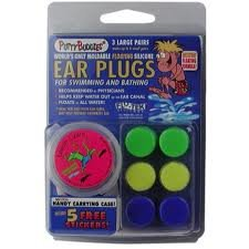 Putty Buddies Swimmer's Ear Plugs 3 Pack
