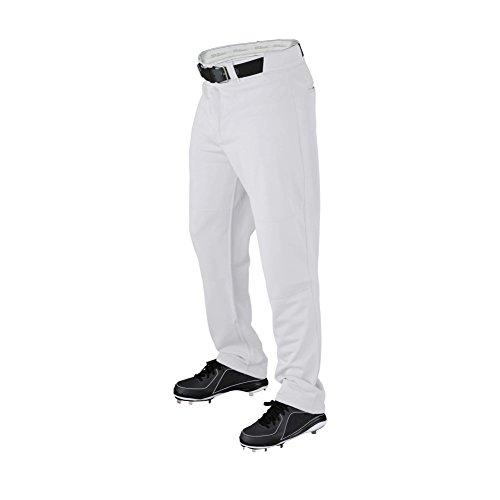 (Wilson Men's Pro T3 Relaxed Fit Baseball Pant, White, Large)