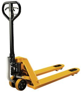 Power Pallet Jack - BPM5-PA-Y Series; Capacity (LBS): 5,000; Overall Fork Dimensions (W x L): 27'' x 48''; Fork Service Range: 3'' to 7-1/2''