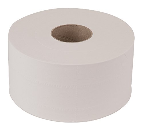 Tork Advanced 11020602 Soft Mini Jumbo Bath Tissue Roll, Perforated, 2-Ply, 7.36'' Diameter, 3.55'' Width x 8.38'' Length, White (Case of 12 Rolls, 1,075 per Roll, 12,900 Sheets) by Tork (Image #5)