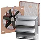 &20 inch Dd Fan 1/3Hp Exprf Vs W/Bg&Shutter