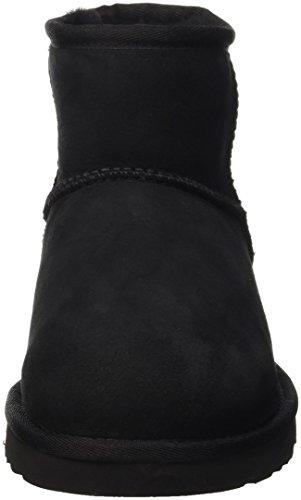 UGG Australia Mini Classic Rustic Weave, Botines para Mujer Negro (Nero)