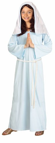 Forum Novelties Biblical Times Mary Costume, Child Large