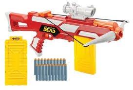 Walking Dead Comic Series Dwight's Crossbow Foam dart shooter includes 20 darts 2 magazines