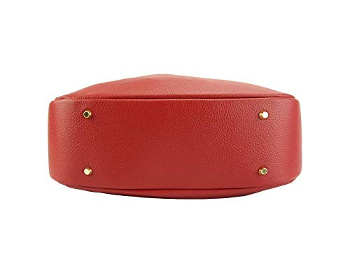 En Hombro Becerro Piel Bolsos Market Al Rojo De Claro Bolso Florence Selene Leather 5759 wYqIz4