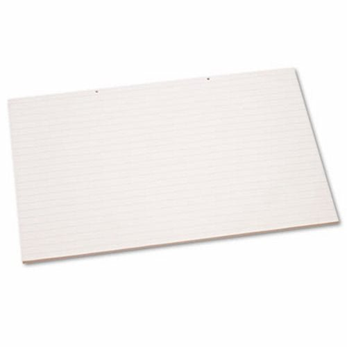 Primary Chart Pad w/1in Rule, 24 x 36, White, 100 Sheets/Pad