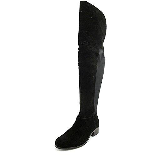 Charles David Womens Giza Leather Closed Toe Over Knee Fashion, Black, Size 6.0