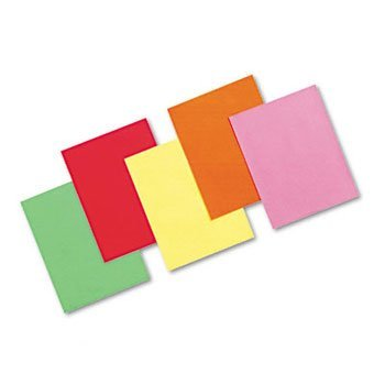 Pacon® Array® Colored Bond Paper, Brights PAPER,8.5X11,24#,BOLD,AST (Pack of5)