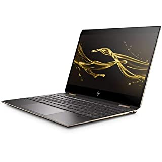 "2019 HP Spectre X360 2-in-1 Laptop, 15.6"" 4K Ultra HD Touch Display, Intel Core i7-8565U, 16GB Ram, 512GB SSD, Nvidia GeForce MX150, Windows 10, Dark Ash (Renewed)"