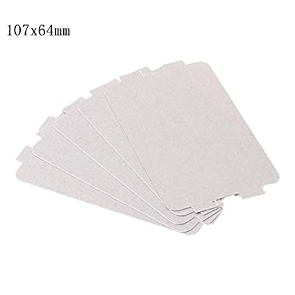 10pc Mica Plate Sheets Microwave Oven Replace Part 120x150mm Universal For Midea