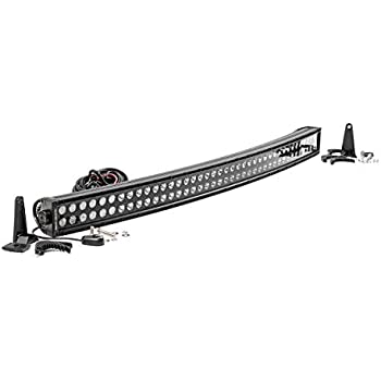 Rough Country - 72940BL - 40-inch Black Series Dual Row Curved CREE LED Light Bar for Anywhere You Can Mount It
