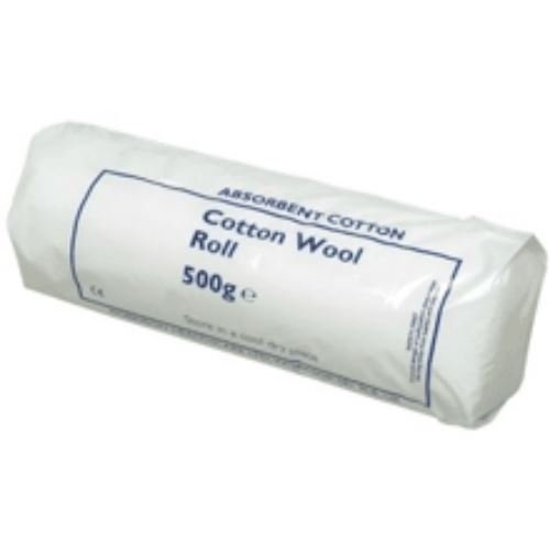 BP Absorbant Cotton Wool Roll 500g | 100 % Pure Cotton | Cleansing & Cushioning Vernon Carus