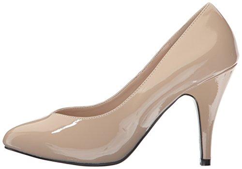 420w Cream Zapatos Mujer Pleaserdream De Pat Tacón CRwxd