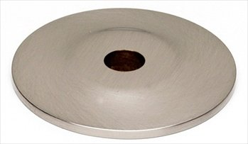 (Alno A815-1P-SN Traditional Knob Cabinet Backplate)