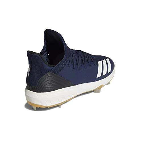 Image of the adidas Icon 4 Cleat Men's Baseball 7 Collegiate Navy-White-Black