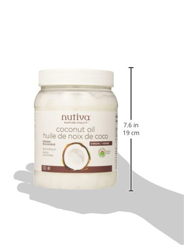 Nutiva Organic, Cold-Pressed, Unrefined, Virgin Coconut Oil from Fresh, non-GMO, Sustainably Farmed Coconuts, 54-ounce (Pack of 2) by Nutiva (Image #7)