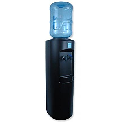 Clover B7B Room Temperature and Cold Bottled Water Dispenser, Black