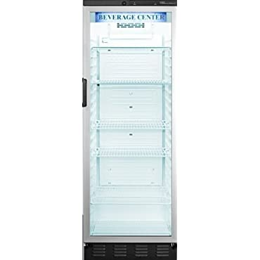 Summit Commercial SCR1300 24 Freestanding Beverage Center 13.0 cu. ft. Capacity, White