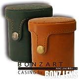 BONZART レンズ/フィルム ケース ブラウン