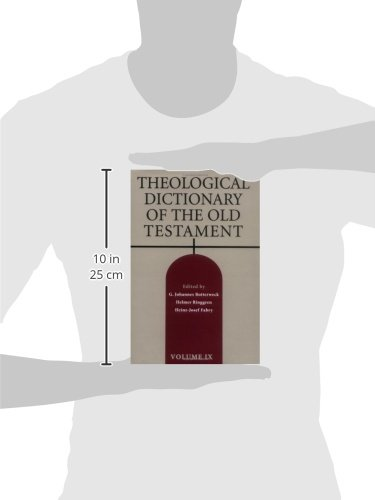 Theological Dictionary of the Old Testament, Vol. 9 by Eerdmans