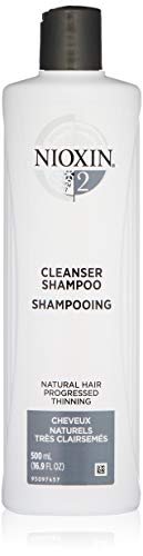 1 Nioxin Cleanser - Nioxin Cleanser Shampoo System 2 for Fine Hair with Progressed Thinning, 16.9 Ounce