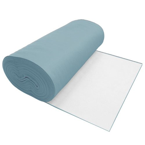 Viscose Felt Light Blue 36 Inches Wide X 70 Yard Long