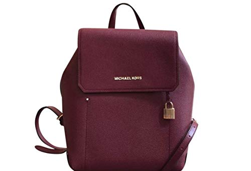 MICHAEL Michael Kors Hayes Leather Backpack - Mulberry