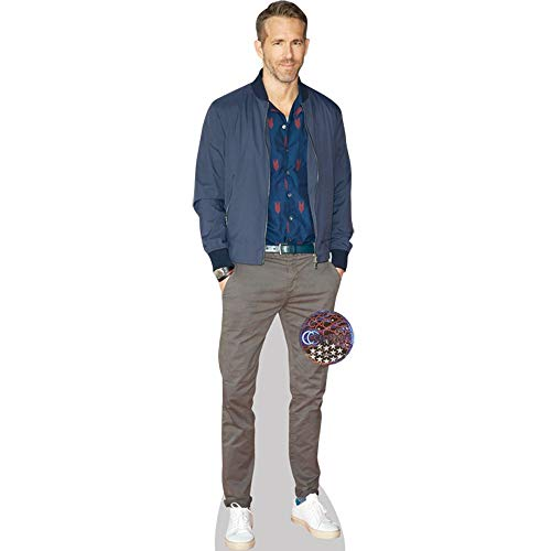Ryan Reynolds (Casual) Mini Cutout for sale  Delivered anywhere in USA