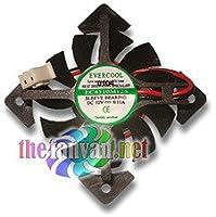 Video Card Replacement Fan 45mm x 10mm Drop In (Bury Fan) Evercool VC-EC4510M12S-X