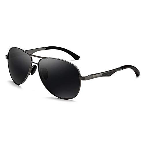 UV sol de Vogue Espejo de B el los Personalidad Gafas Hombres Conduce Running Polarización Aviador Que 5I45w