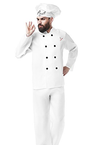 Baker Dress Up Costume  sc 1 st  Best Costumes for Halloween & Mens Chef Cooks Halloween Costumes - Best Costumes for Halloween