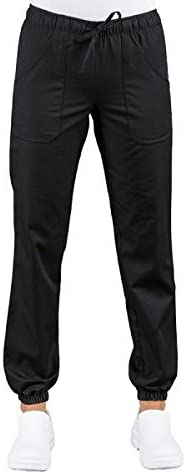Colore Nero Pantagiaffa con elastico ISACCO M