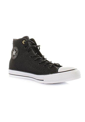 Converse Chuck Taylor All Star Hi Sneaker Uomo Scarpe Taglia Nero / Bianco