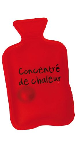 Bolsa de agua caliente de bolsillo con calentador () rojo ...