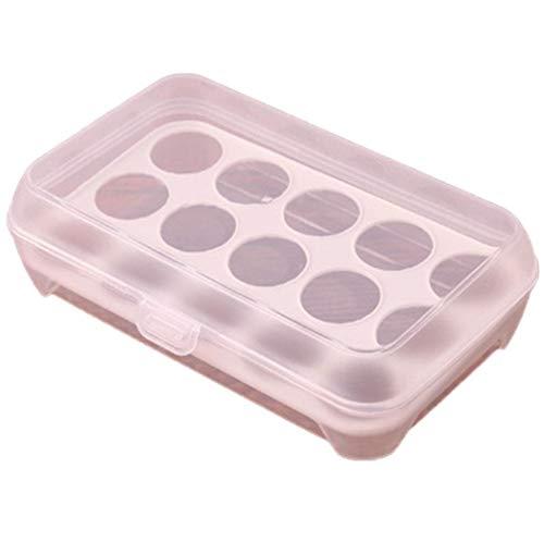 kecooi Kitchen Refrigerator Eggs Storage Box Eggs Holder Food Storage Container Case from kecooi