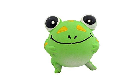 (Amazing Pet Products Latex Dog Toy, Frog)
